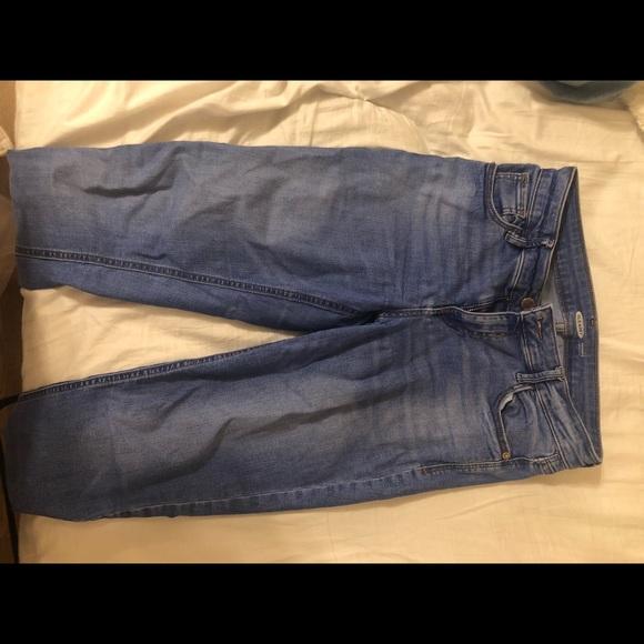 Old Navy Denim - Blue Wash Rockstar Skinny Old Navy Jeans